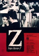 Z - Swedish Movie Poster (xs thumbnail)