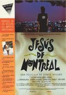 Jésus de Montréal - Spanish Movie Poster (xs thumbnail)