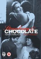 Fresa y chocolate - British DVD movie cover (xs thumbnail)