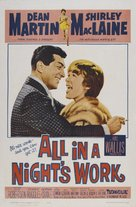 All in a Night's Work - Movie Poster (xs thumbnail)