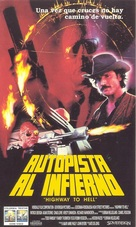 Highway to Hell - Spanish VHS movie cover (xs thumbnail)
