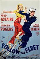 Follow the Fleet - Dutch Movie Poster (xs thumbnail)