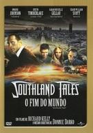 Southland Tales - Brazilian DVD cover (xs thumbnail)