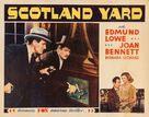 Scotland Yard - Movie Poster (xs thumbnail)