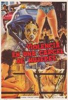 Violenza in un carcere femminile - Spanish Movie Poster (xs thumbnail)