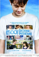 (500) Days of Summer - Italian Movie Poster (xs thumbnail)