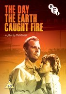 The Day the Earth Caught Fire - British DVD movie cover (xs thumbnail)