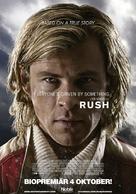 Rush - Swedish Movie Poster (xs thumbnail)