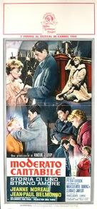 Moderato cantabile - Italian Movie Poster (xs thumbnail)