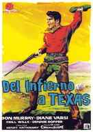 From Hell to Texas - Spanish Movie Poster (xs thumbnail)