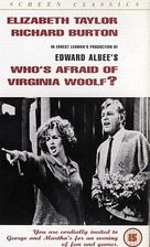 Who's Afraid of Virginia Woolf? - DVD movie cover (xs thumbnail)