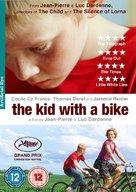 Le gamin au vélo - British DVD cover (xs thumbnail)