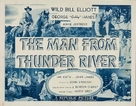 The Man from Thunder River - Movie Poster (xs thumbnail)