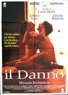 Damage - Italian Movie Poster (xs thumbnail)