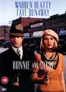 Bonnie and Clyde - British DVD movie cover (xs thumbnail)