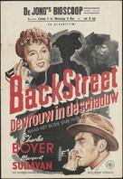 Back Street - Dutch Movie Poster (xs thumbnail)