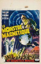 The Magnetic Monster - Belgian Movie Poster (xs thumbnail)