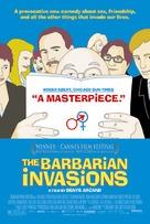 Invasions barbares, Les - poster (xs thumbnail)