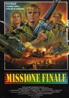 Missione finale - Italian Movie Poster (xs thumbnail)