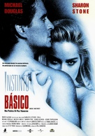 Basic Instinct - Spanish Movie Poster (xs thumbnail)