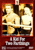 A Kid for Two Farthings - Australian DVD movie cover (xs thumbnail)