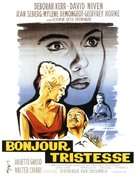 Bonjour tristesse - French Movie Poster (xs thumbnail)