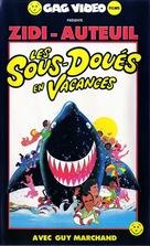 Les sous-doués en vacances - French VHS cover (xs thumbnail)