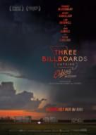 Three Billboards Outside Ebbing, Missouri - German Movie Poster (xs thumbnail)
