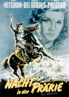 Blood on the Moon - German Movie Poster (xs thumbnail)