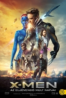 X-Men: Days of Future Past - Hungarian Movie Poster (xs thumbnail)