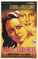 The Snake Pit - Spanish Movie Poster (xs thumbnail)