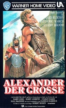 Alexander the Great - German VHS movie cover (xs thumbnail)