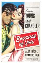 Because of You - Movie Poster (xs thumbnail)