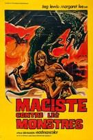 Maciste contro i mostri - French Movie Poster (xs thumbnail)