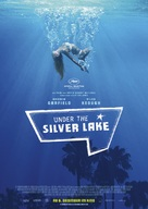 Under the Silver Lake - German Movie Poster (xs thumbnail)