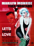 Let's Make Love - Danish Movie Poster (xs thumbnail)
