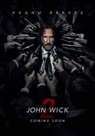 John Wick: Chapter Two - British Movie Poster (xs thumbnail)