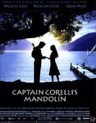 Captain Corelli's Mandolin - British Movie Poster (xs thumbnail)