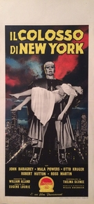 The Colossus of New York - Italian Movie Poster (xs thumbnail)