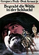 Billy Two Hats - German Movie Poster (xs thumbnail)