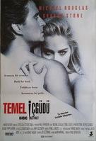Basic Instinct - Turkish Movie Poster (xs thumbnail)
