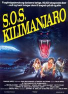 In the Shadow of Kilimanjaro - Danish Movie Poster (xs thumbnail)