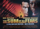 The Sum of All Fears - British Movie Poster (xs thumbnail)