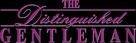 The Distinguished Gentleman - Logo (xs thumbnail)