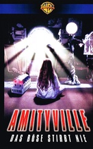 Amityville: Dollhouse - German VHS movie cover (xs thumbnail)