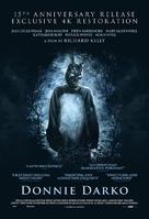 Donnie Darko - British Re-release movie poster (xs thumbnail)