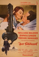 The Key - German Movie Poster (xs thumbnail)