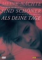 Mes nuits sont plus belles que vos jours - German DVD cover (xs thumbnail)