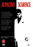 Scarface - British DVD movie cover (xs thumbnail)