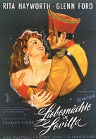 The Loves of Carmen - German Movie Poster (xs thumbnail)